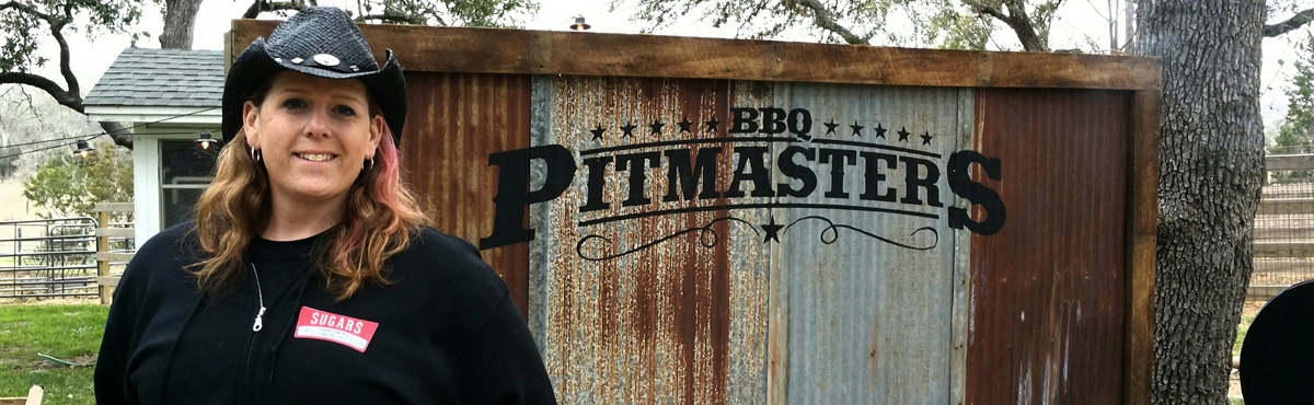Lynnae was a contestant on two BBQ Pitmasters