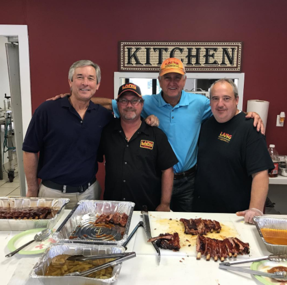 Lang BBQ Competition Team at 2017 Q-School